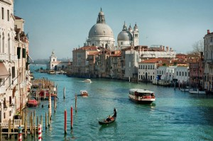 Grand Canal and Basilica Santa Maria della Salute Venice Italy small 300x199 Island Trader Vacations Travel Services Department Exploring The Grand Canal